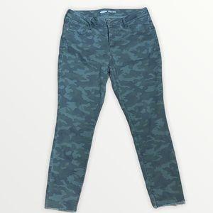 Old Navy Women's Camo Rockstar Jeans Size 12